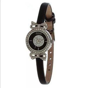 Badgley Swarovski crystal watch like new